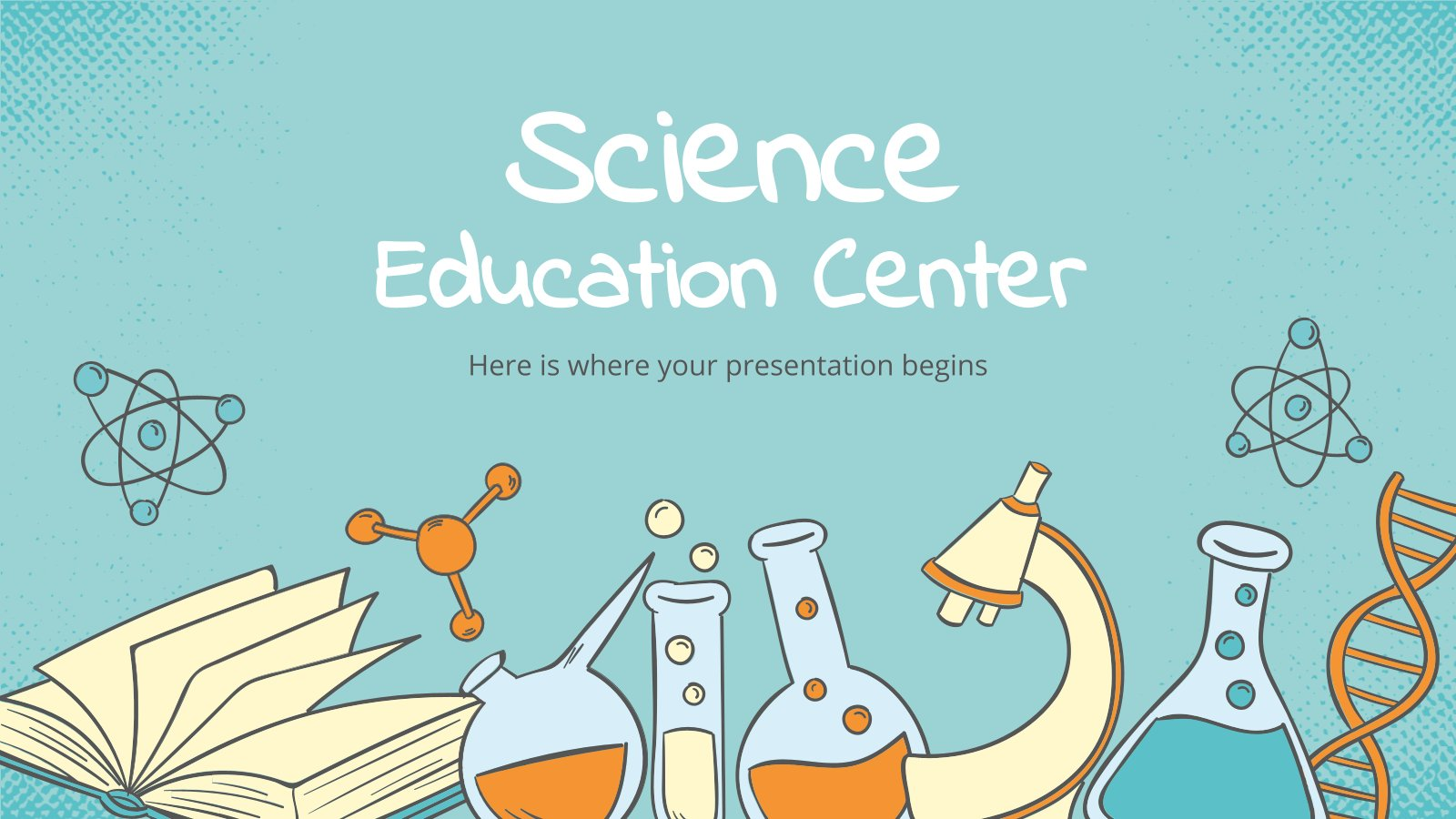 Science Education Center presentation template