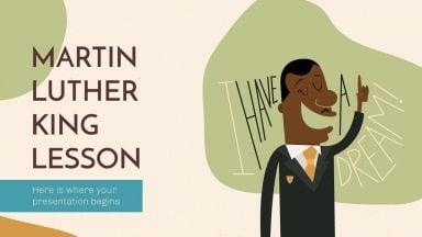 Cours sur Martin Luther King : Modèles de présentation