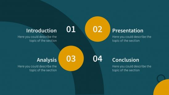 Sales & Deals presentation template