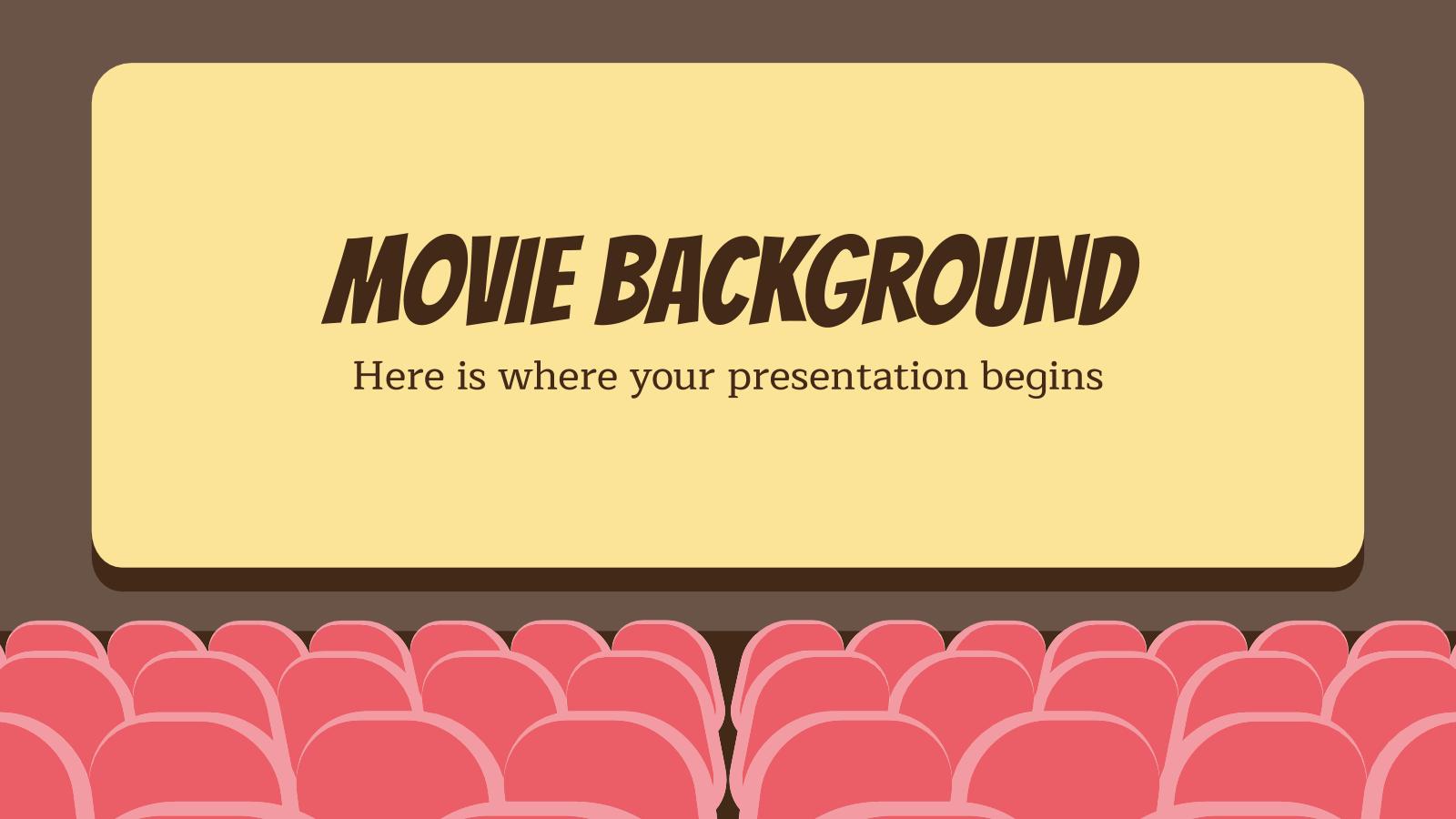 Arrière-plan de film : Modèles de présentation