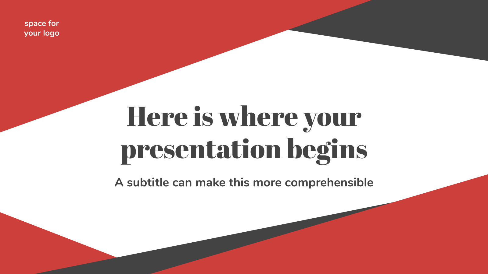 Business Slides presentation template