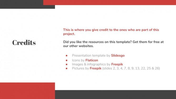 Modelo de apresentação Slides corporativos
