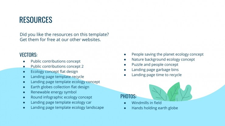 Environmental Consulting presentation template