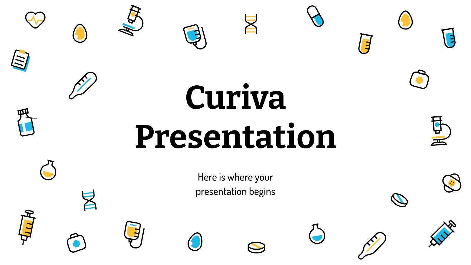 Curiva presentation template