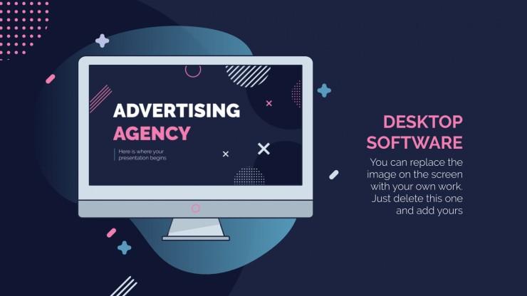 Plantilla de presentación Agencia de publicidad