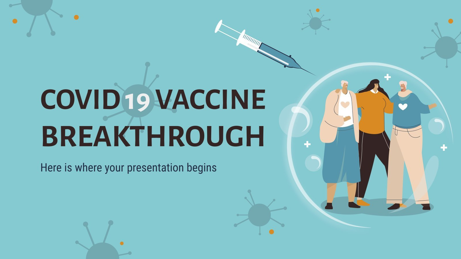 COVID-19 Vaccine Breakthrough presentation template