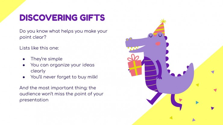 Fun Gifts for Your Students! presentation template