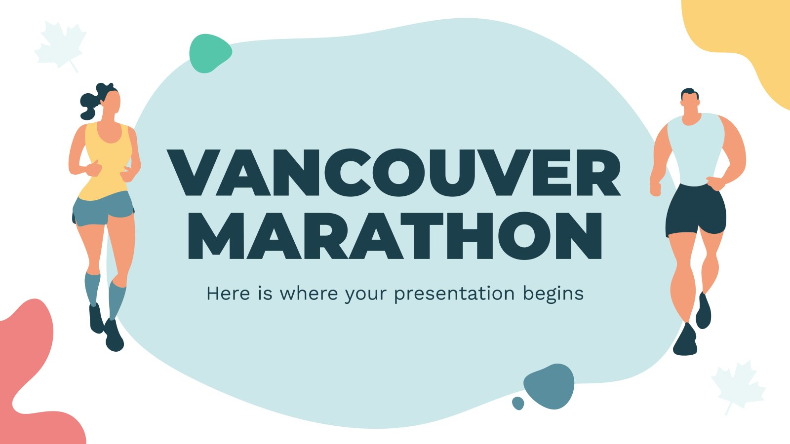 Marathon de Vancouver : Modèles de présentation