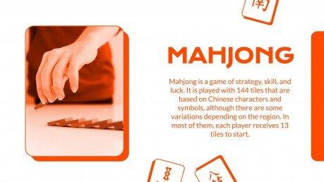 Learn to Play Mahjong presentation template