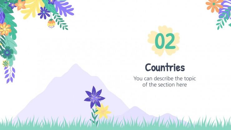 Festival international des fleurs de Goyang : Modèles de présentation