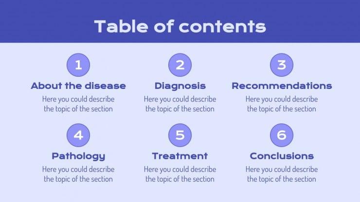 Cystic Fibrosis Disease presentation template