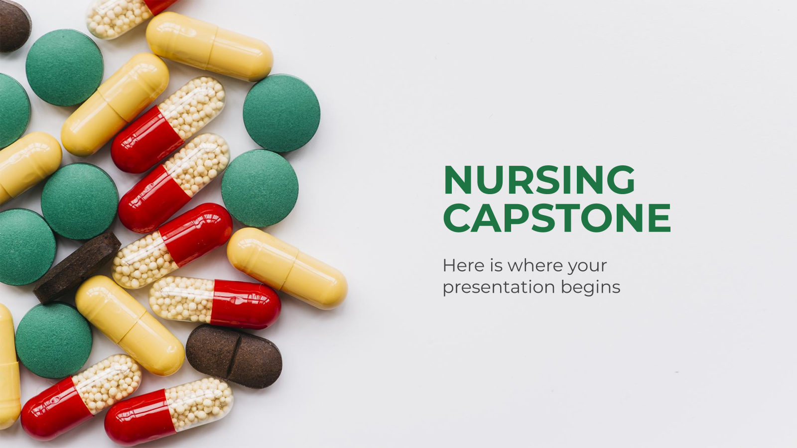 Nursing Capstone presentation template