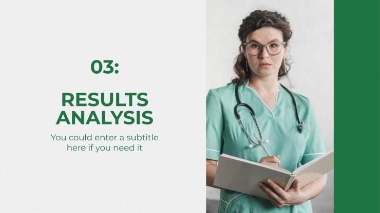 Plantilla de presentación Proyecto final de enfermería