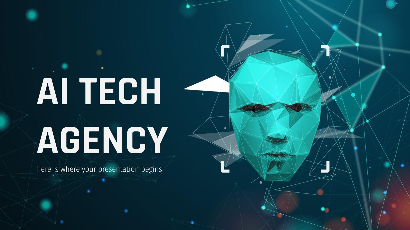 AI Tech Agency presentation template