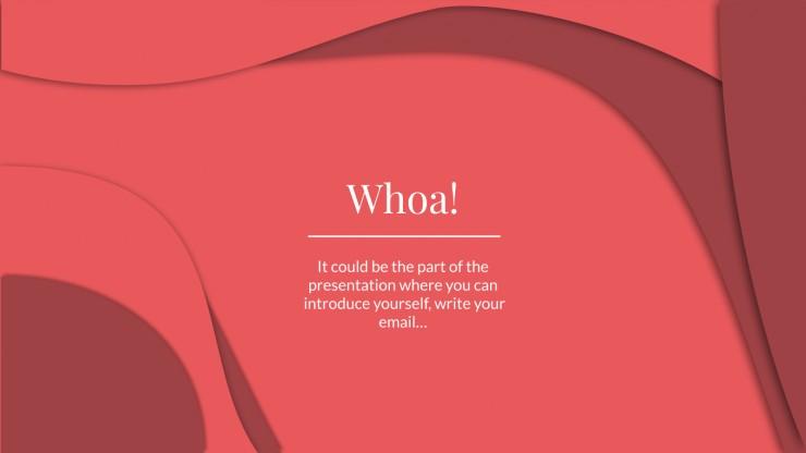 Natural Cosmetics presentation template