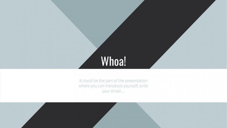 Geometric Business presentation template
