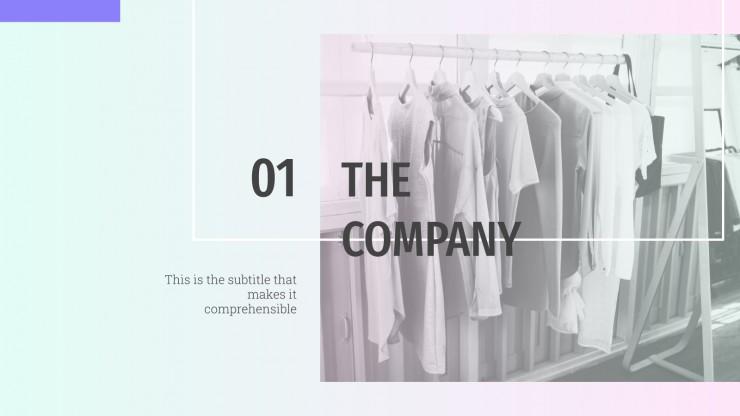 Mode dégradé : Modèles de présentation