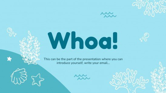 Mother Ocean Day presentation template
