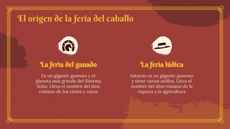 Feria del Caballo: Jerez Präsentationsvorlage