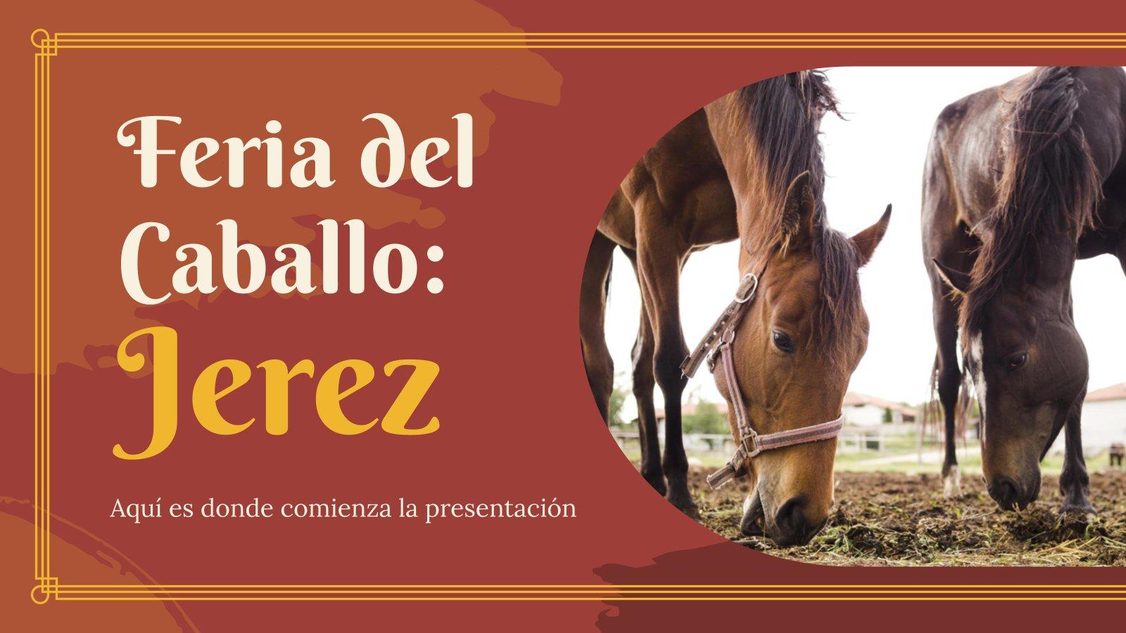Feria del Caballo: Jerez presentation template