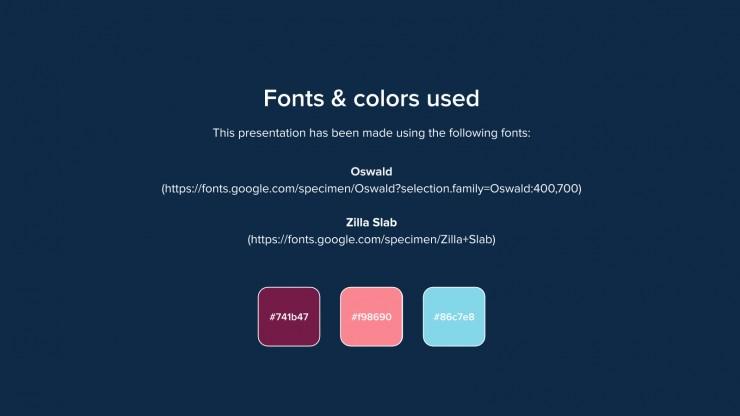 Designer Portfolio presentation template