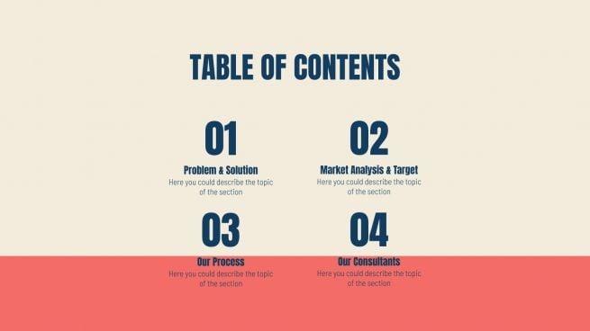 Norrell Consulting : Modèles de présentation