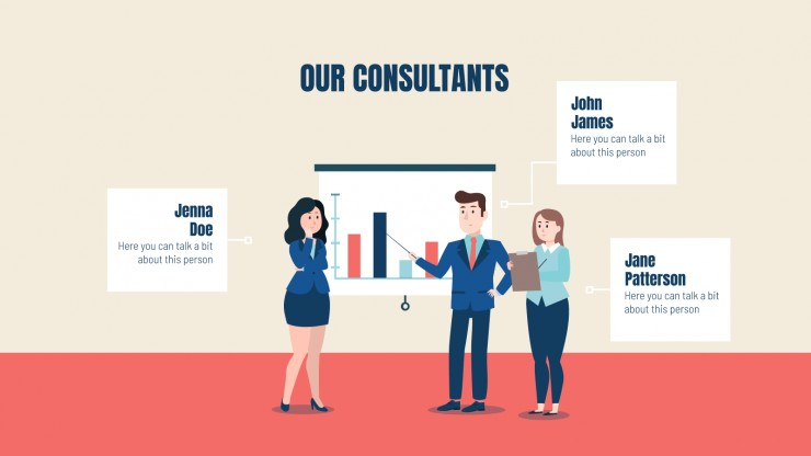 Norrell Consulting presentation template