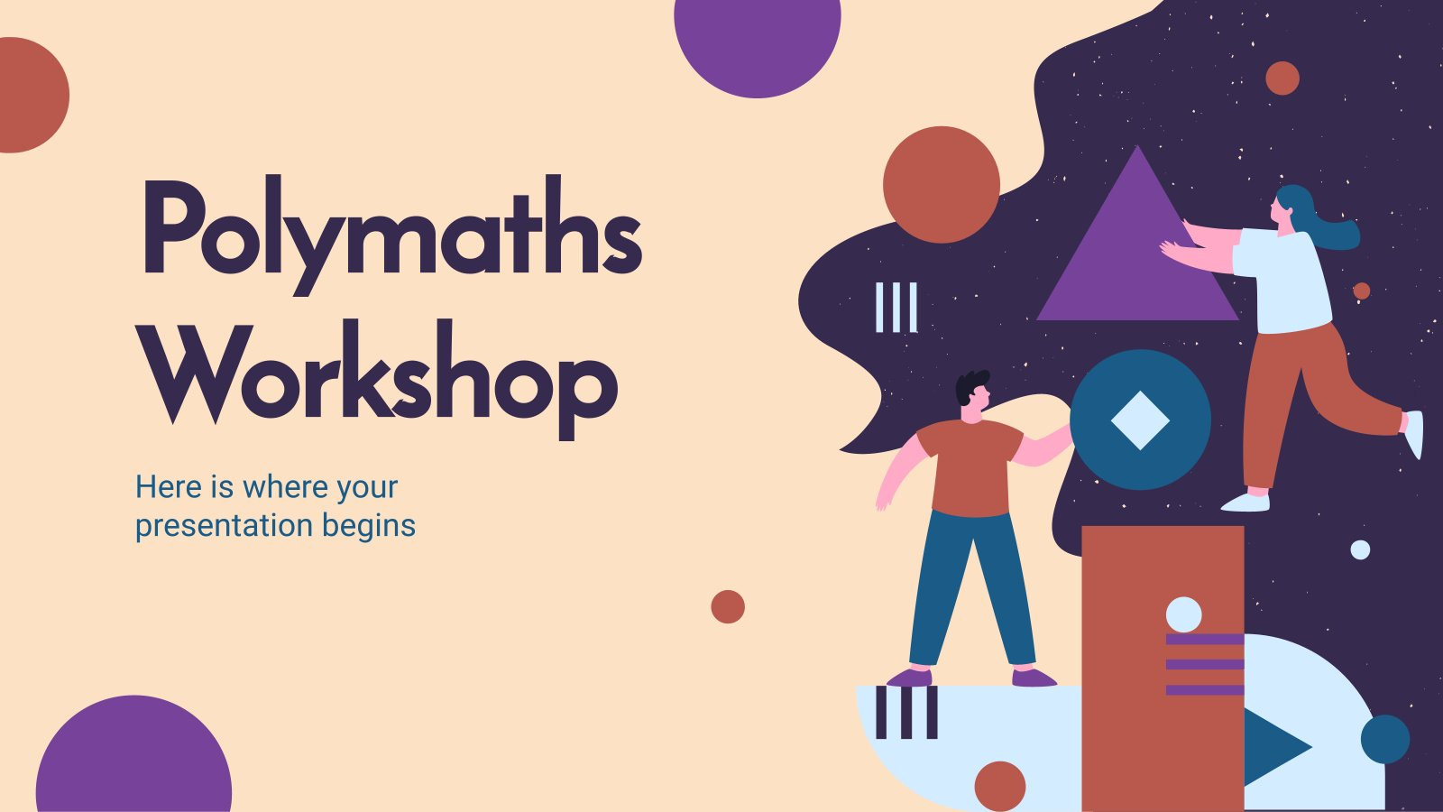 Atelier Polymath : Modèles de présentation