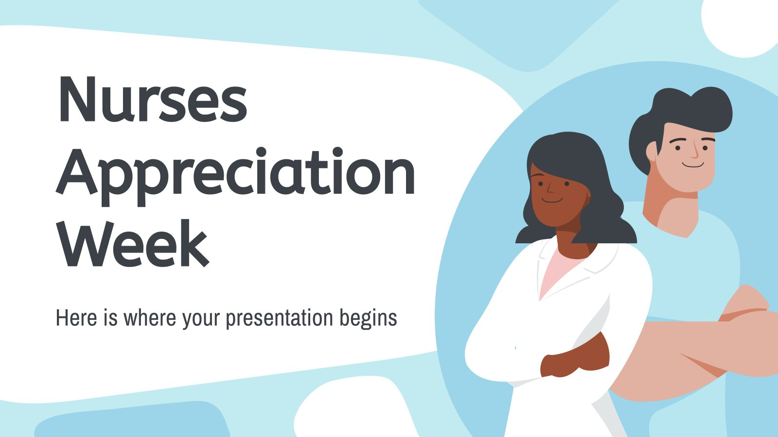 Nurses' Appreciation Week presentation template