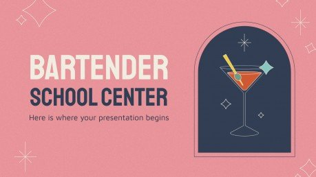 Modelo de apresentação Escola de bar