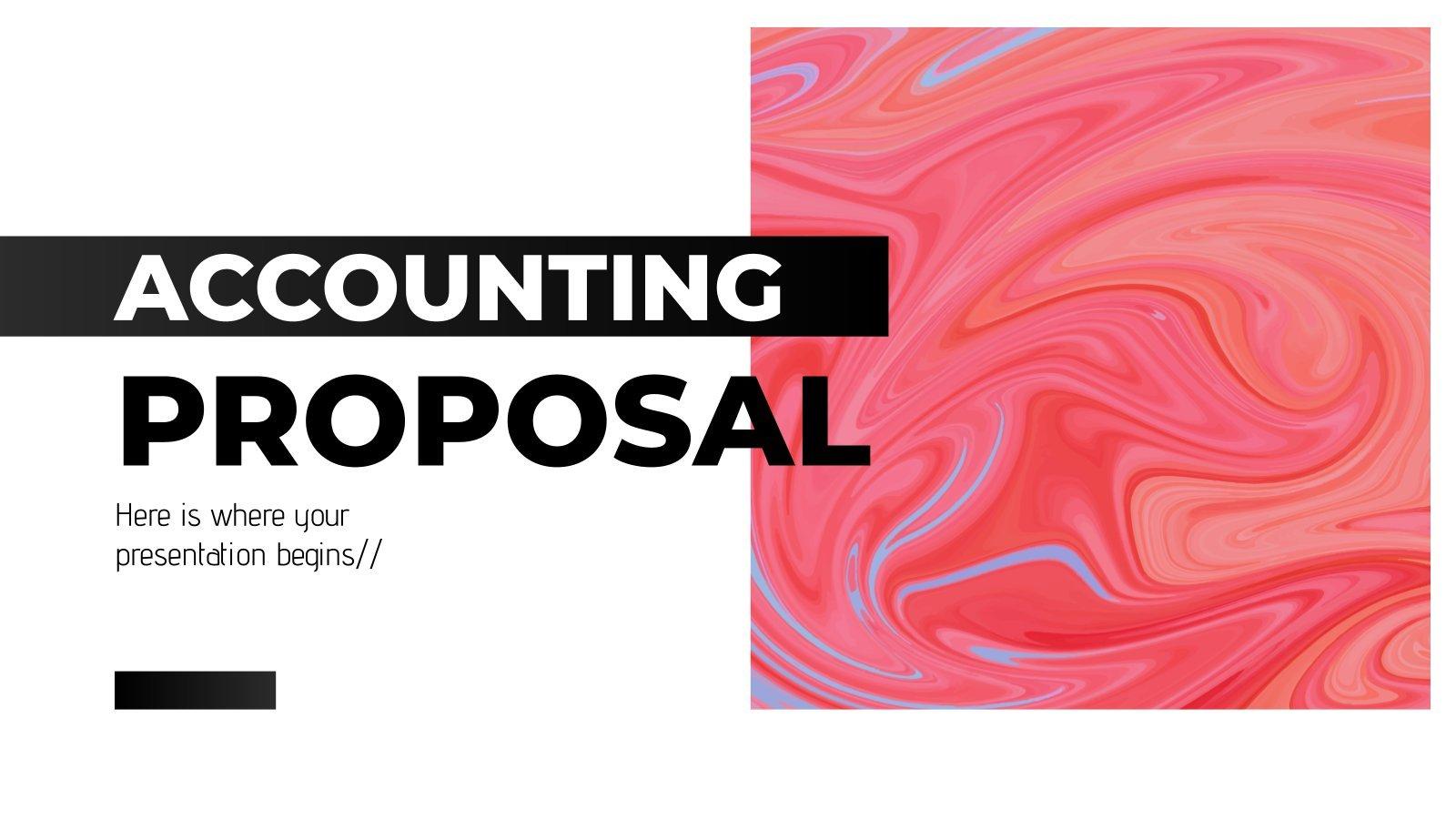 Proposition de comptabilité : Modèles de présentation