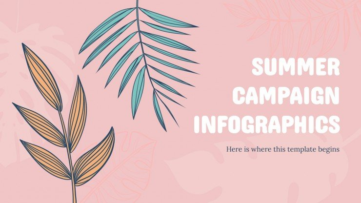 Summer Campaign Infographics