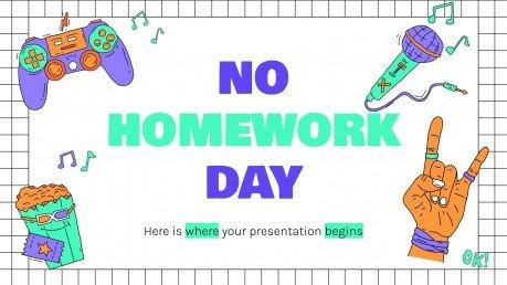 Modelo de apresentação Dia sem deveres