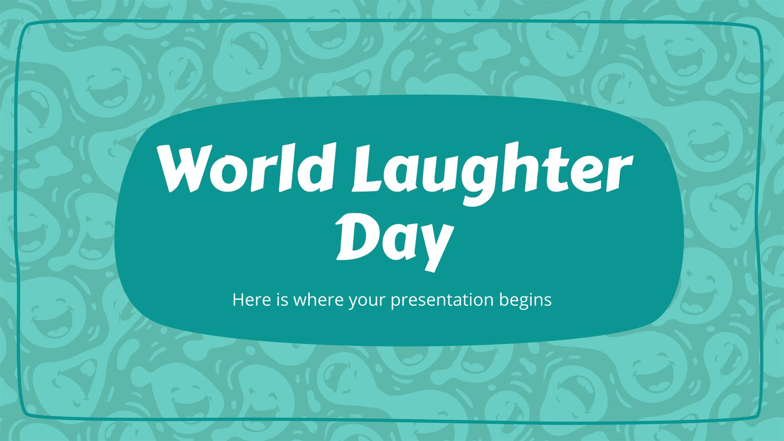 World Laughter Day presentation template
