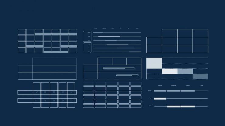 Modelo de apresentação Design em cromo escuro para teses