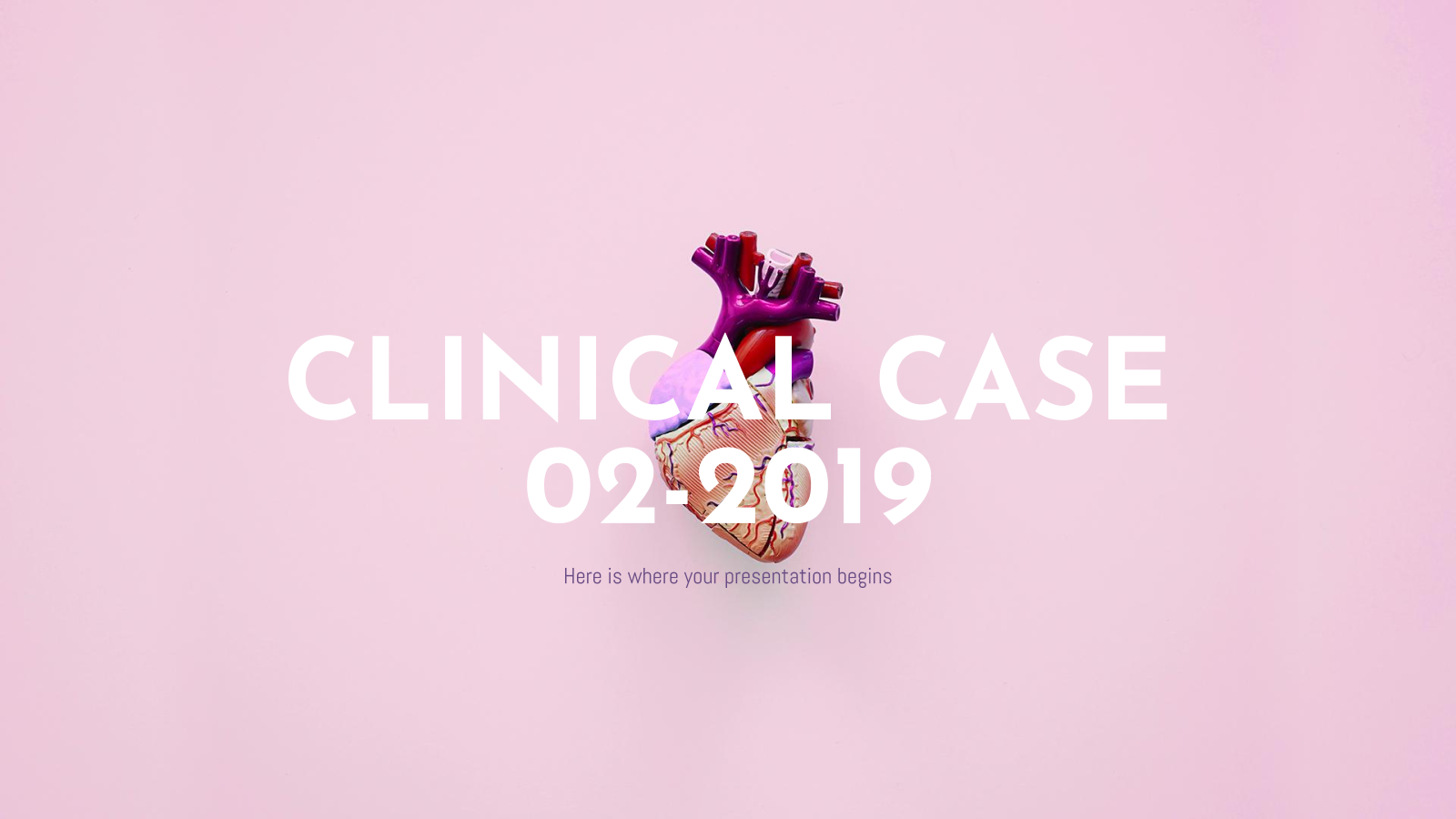 Clinical Case 02-2019 presentation template