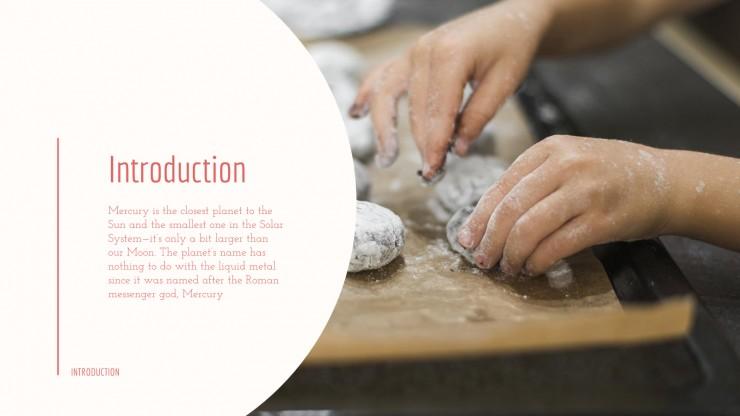 Kids Baking Workshop presentation template