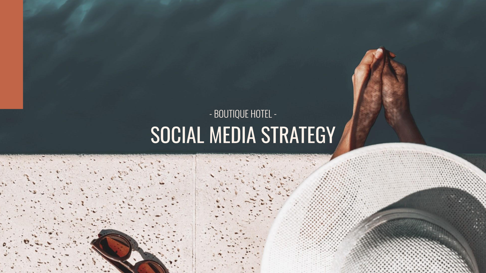 Boutique Hotel Social Media presentation template