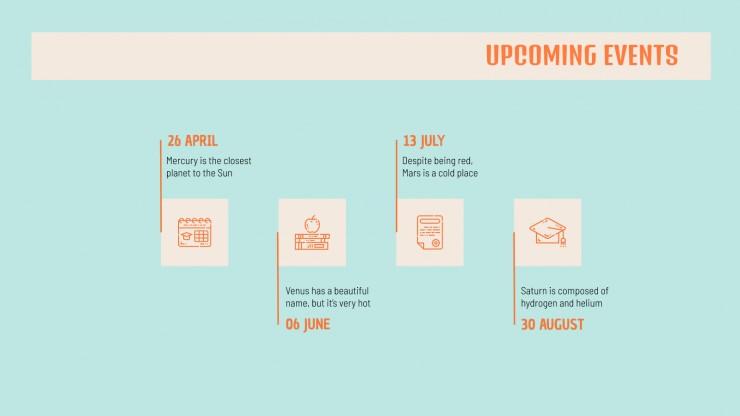 Newsletter pour écoles de langues : Modèles de présentation