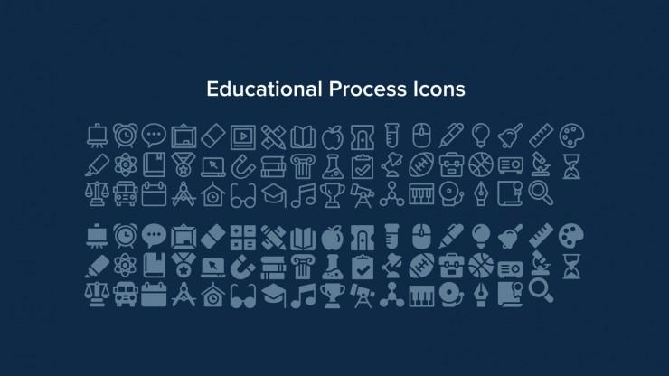 Plantilla de presentación Newsletter de escuela de idiomas