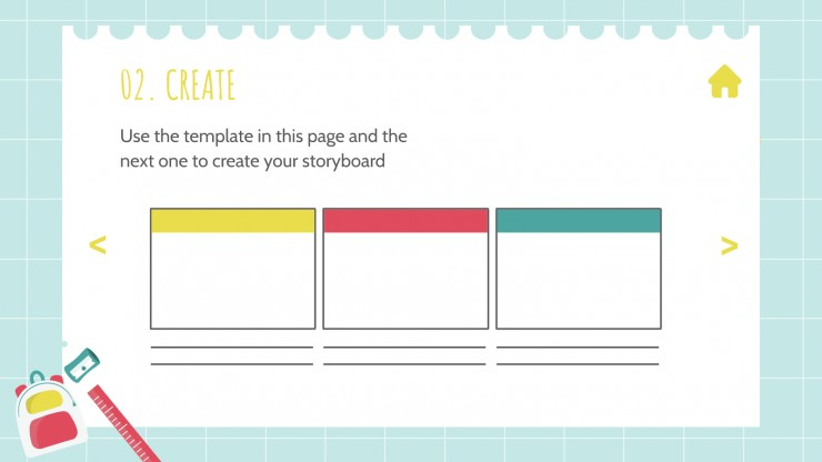 Student Choice Board for Middle School presentation template