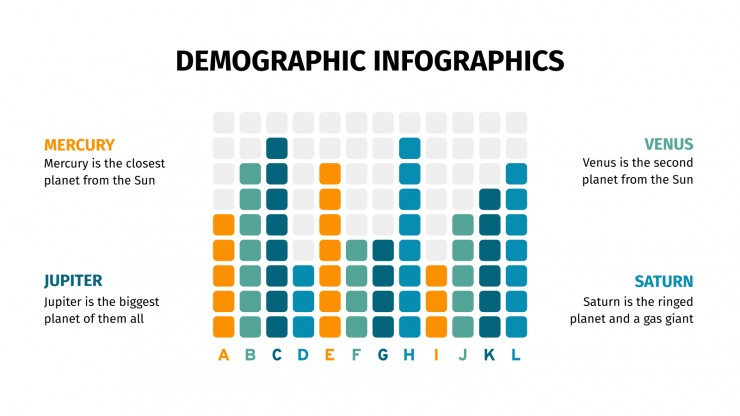 Demographic Infographics presentation template