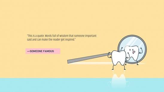 Plantilla de presentación Clínica dental