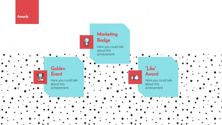 Events Marketing Agency presentation template