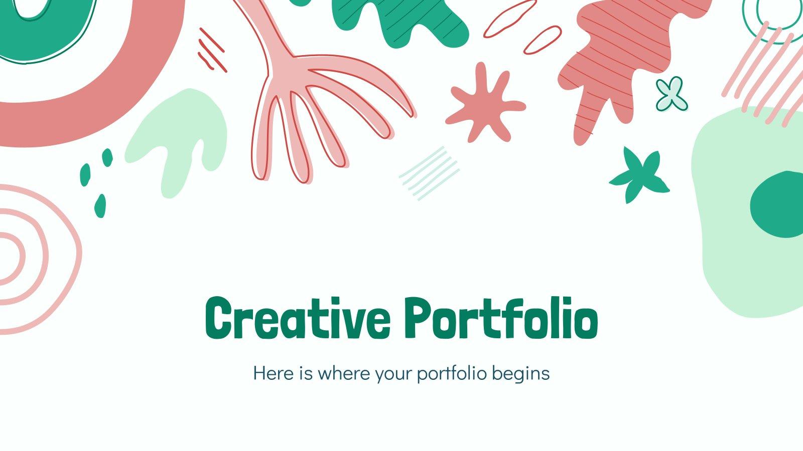 Creative Portfolio presentation template