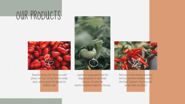 Plantilla de presentación Empresa agrícola