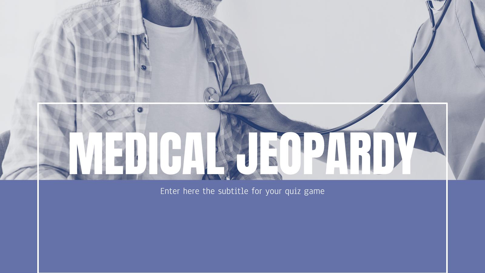 Medical Jeopardy presentation template
