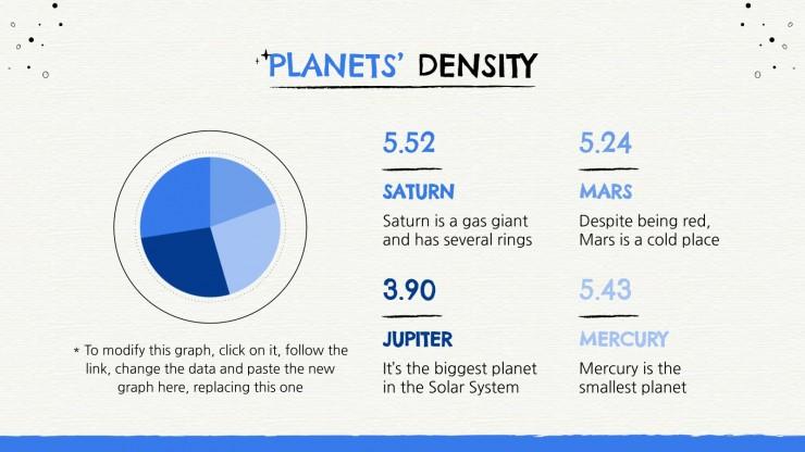 Plantilla de presentación Conoce el universo: clase de astronomía
