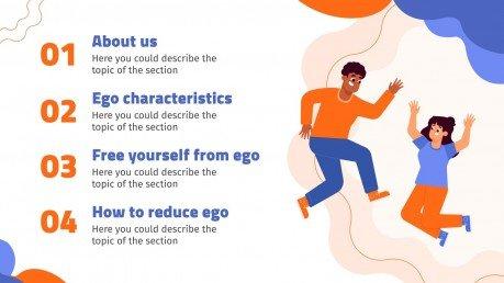 Plantilla de presentación Día mundial de concienciación del ego