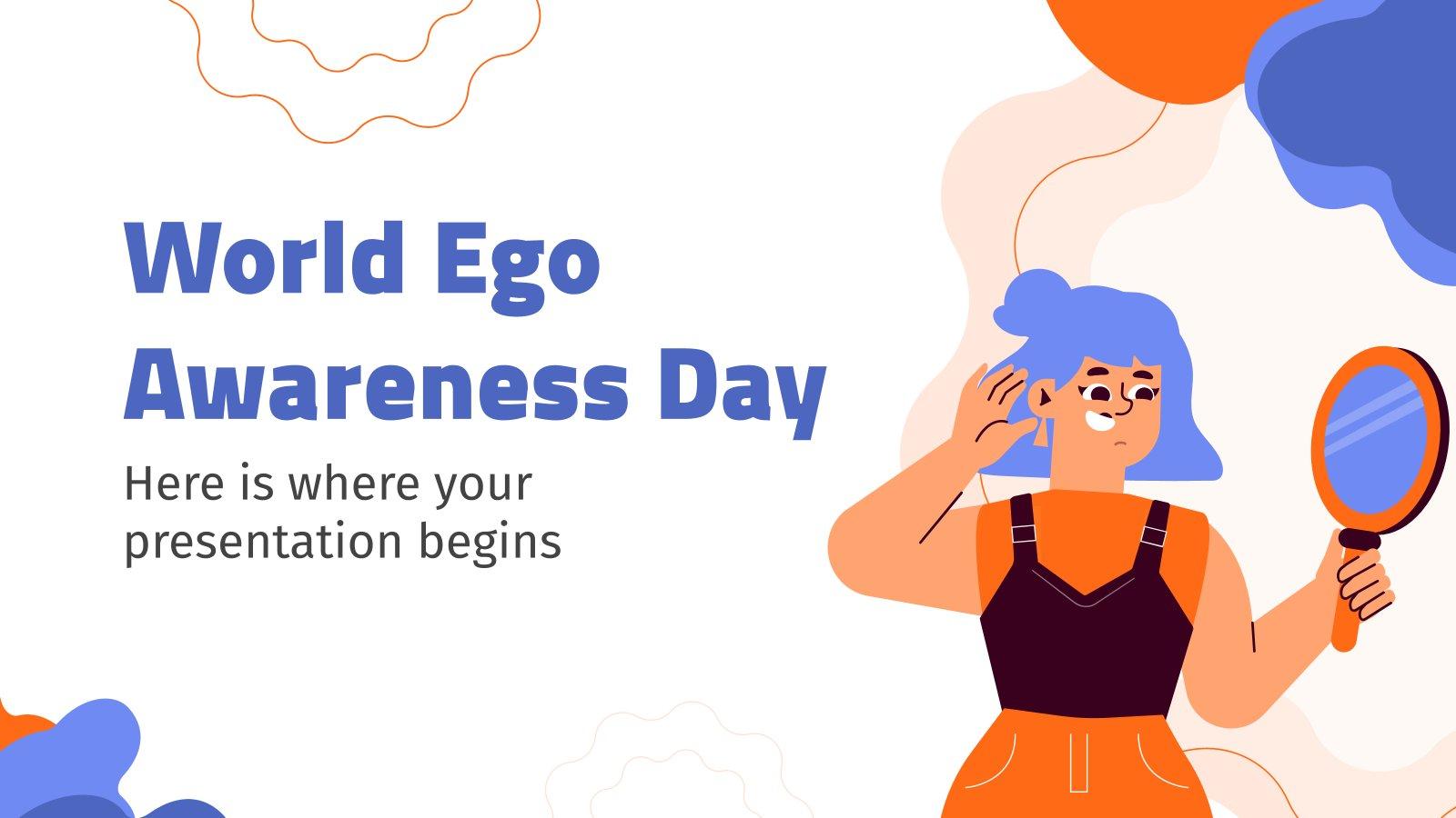 Modelo de apresentação Dia Mundial da Consciência do Ego